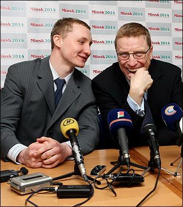 Артур Рекшта (слева)