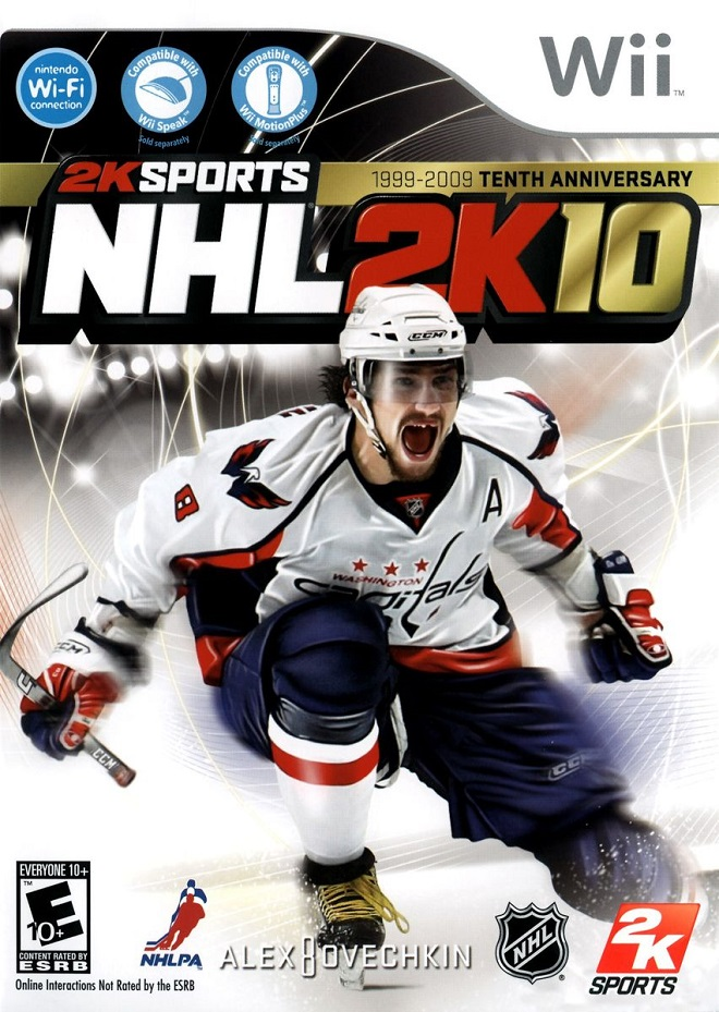Александр Овечкин, NHL 2K10