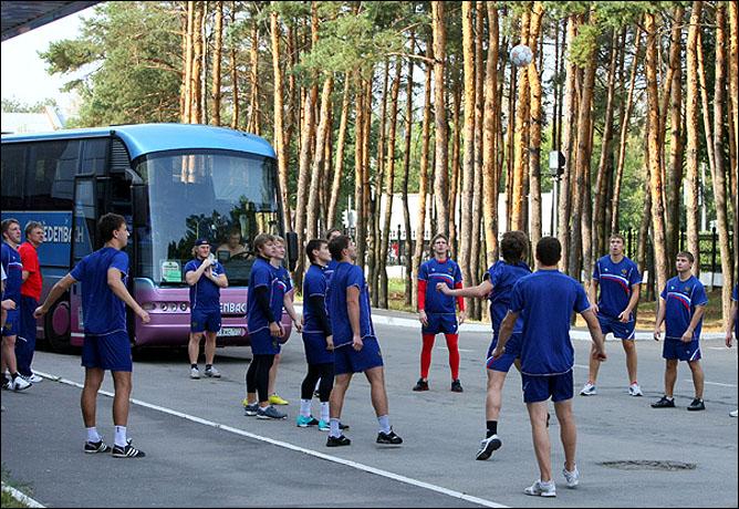 13.08.2010. Россия (U-20) - Франция (U-20) - 7:1. Фото 01.