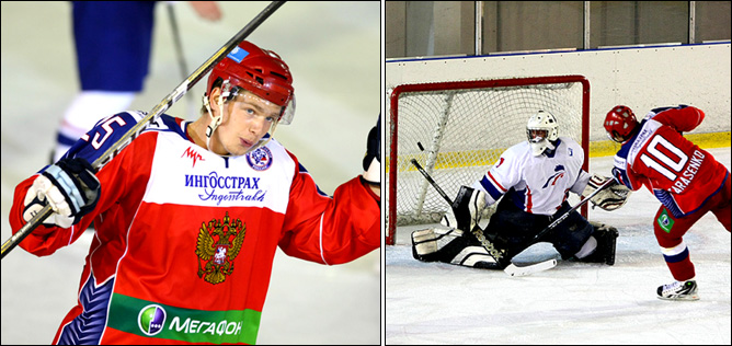 13.08.2010. Россия (U-20) - Франция (U-20) - 7:1. Фото 04.