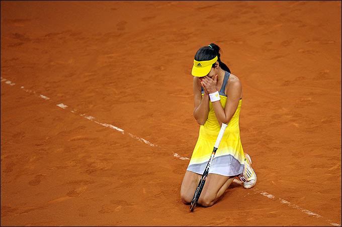 Иванович победила в обеих матчах, но Сербия проиграла