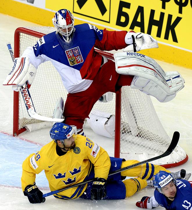 25 мая 2014 года. Минск. Чемпионат мира. Матч за 3-е место. Швеция — Чехия — 3:0