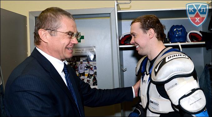 Александр Медведев и Сергей Мозякин