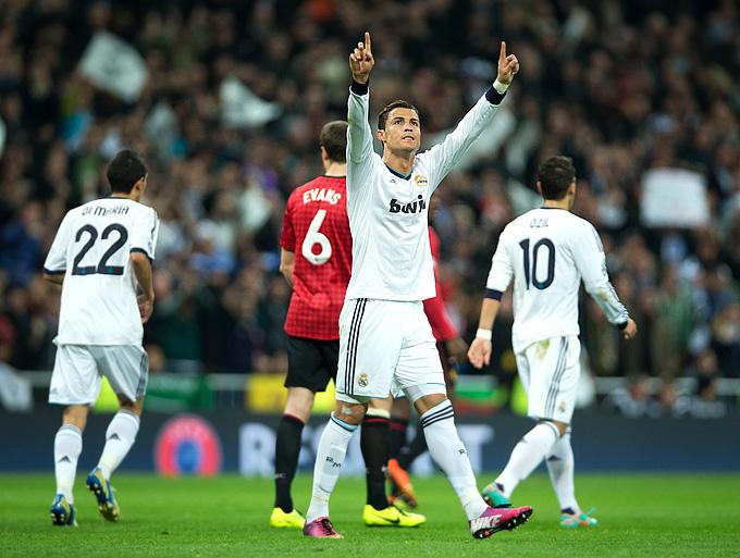 """""""Реал"""" М (Мадрид, Испания) – """"Манчестер Юнайтед"""" (Манчестер, Англия) – 1:1"""