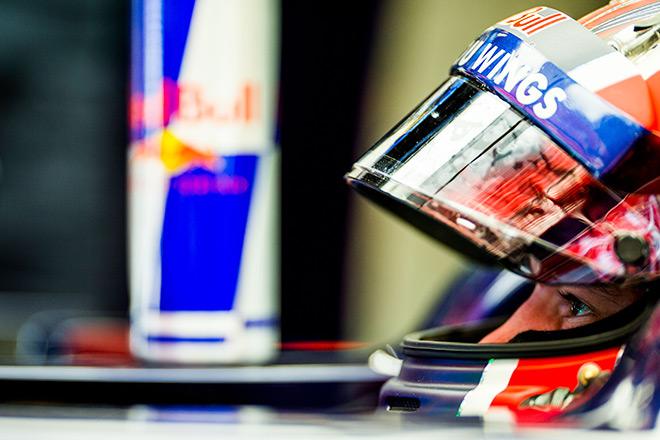 Даниил Квят на Гран-при Испании Формулы-1