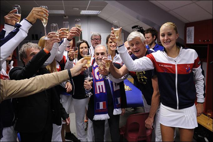 Возвращение Бартоли помогло Франции выиграть