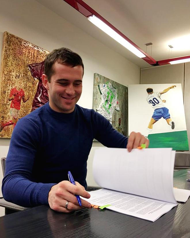Александр Кержаков подписывает контракт с «Цюрихом»