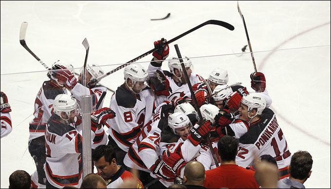 """27 апреля 2012 года. Санрайз. Плей-офф НХЛ. 1/8 финала. """"Флорида Пантерз"""" — """"Нью-Джерси Девилз"""" — 2:3 (2ОТ)"""