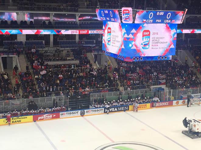 Буллиты в матче Чехия — США