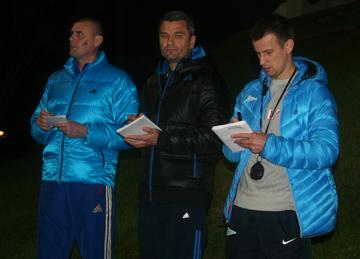 """За вечерней тренировкой """"Рубина"""" наблюдали известные российские футболисты из поколения 1990-х и 2000-х"""