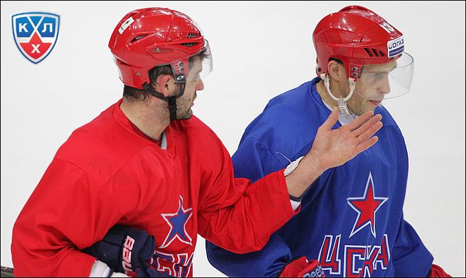 Александр Радулов и Павел Дацюк
