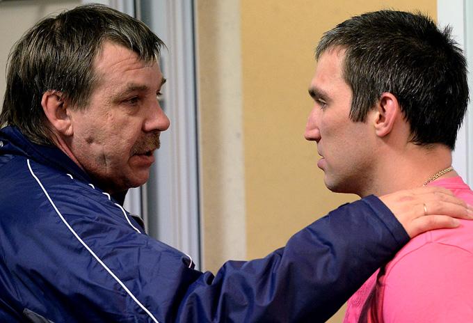Олег Знарок и Александр Овечкин
