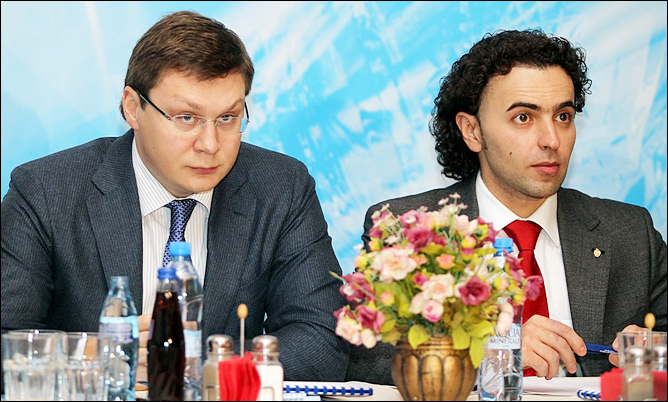 Максим Митрофанов и Роман Бабаев