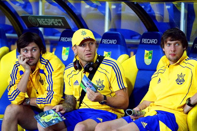 Андрей Воронин вернулся в сборную после личной беседы с Блохиным