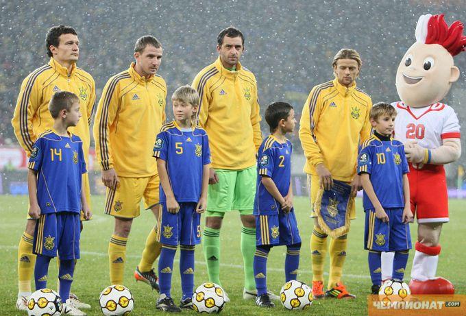 Костяк сборной Украины на Евро будет состоять из опыта и молодости