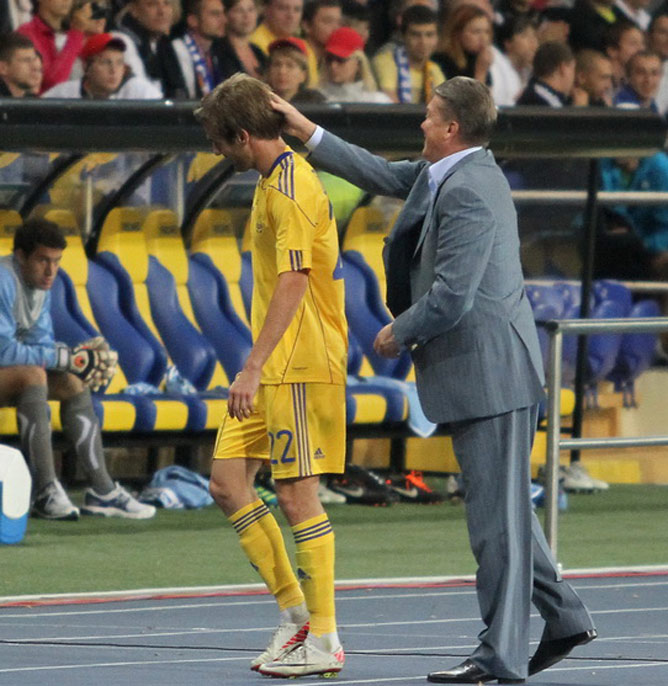 Марко Девич играл почти во всех матчах после прихода Блохина в сборную