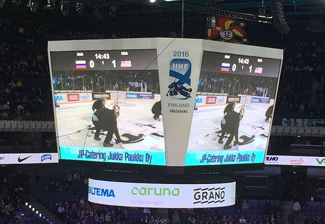 Россия — США — 0:1 после первого периода