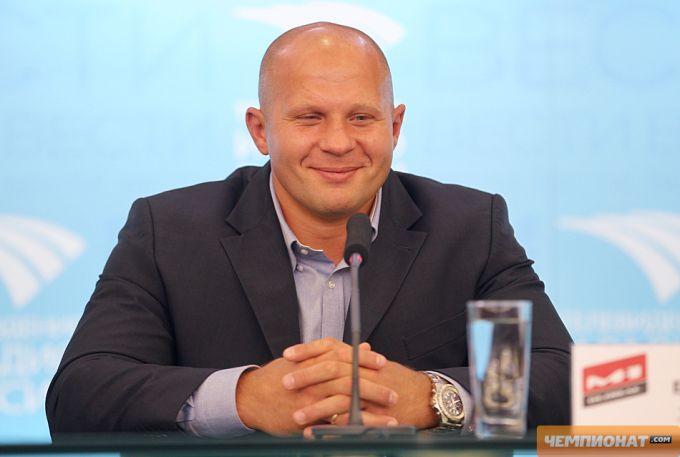 Фёдор Емельяненко (31-4). Родился 26 сентября 1976 года. Рост: 183 см, вес: 104 кг.