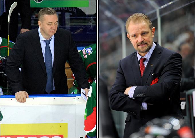 Валерий Белов и Петри Матикайнен