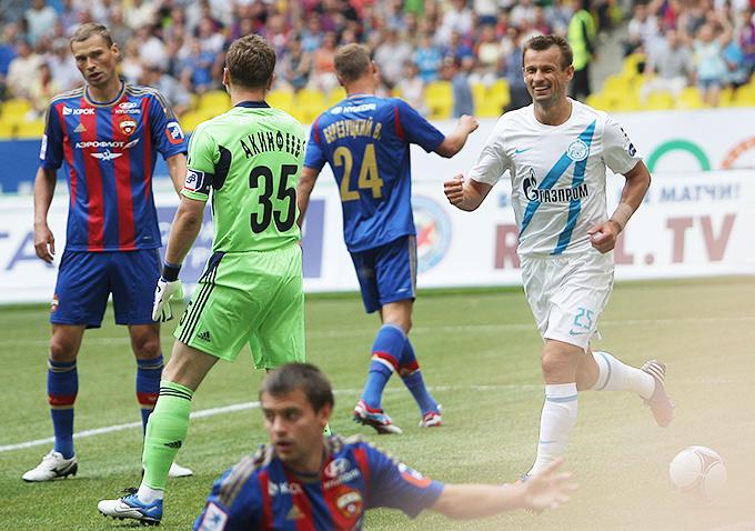 Сергей Семак забил два мяча в ворота бывшей команды
