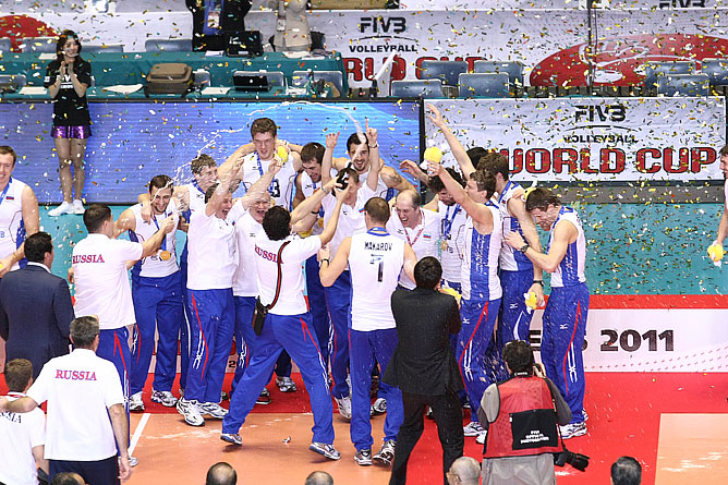 Кубок мира и путёвка в Лондон в руках российских волейболистов