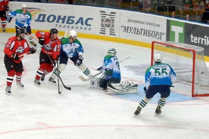 "ХК ""Торос"" — ХК ""Донбасс"" — 2:6"