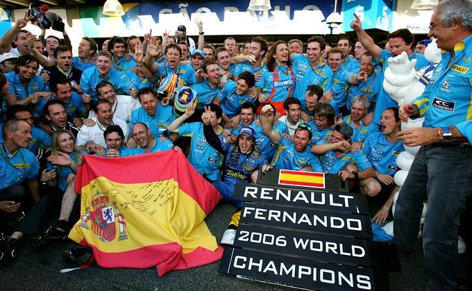 Алонсо — двукратный чемпион после Гран-при Бразилии-2006