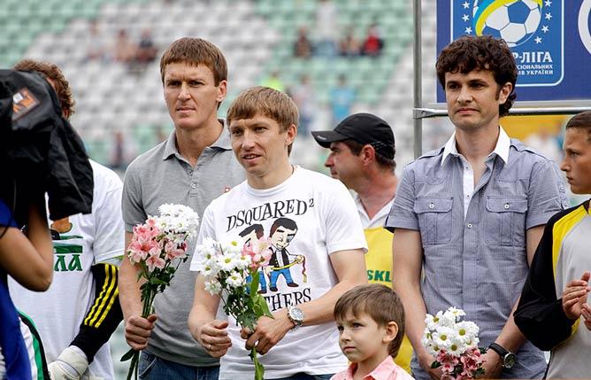 Василий Сачко, Дмитрий Есин и Сергей Величко