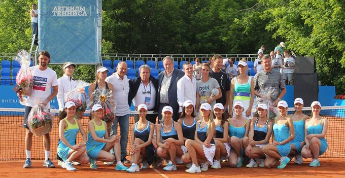 """""""Легенды тенниса"""". Фото на память"""