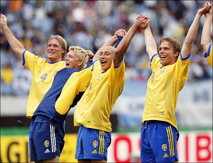 Шведы обошли в своей группе Англию и Аргентину