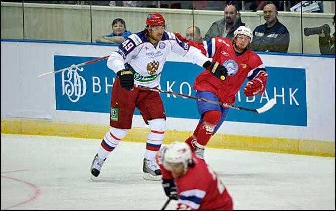 17 апреля 2011 года. Санкт-Петербург. Европейский Кубок Вызова. Россия — Норвегия — 6:2.