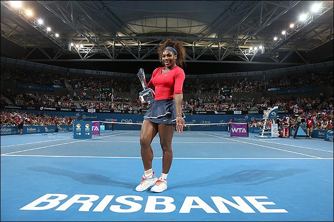 Серена Уильямс уверенно обыграла всех соперниц в Брисбене