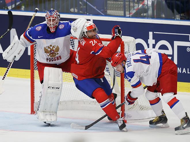 Сборная России выиграла у Норвегии – 6:2