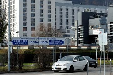 Госпиталь в Гренобле, куда доставлен Шумахер