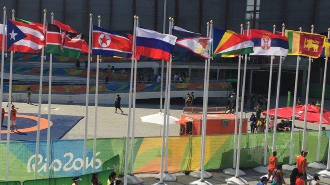 Флаги в Рио