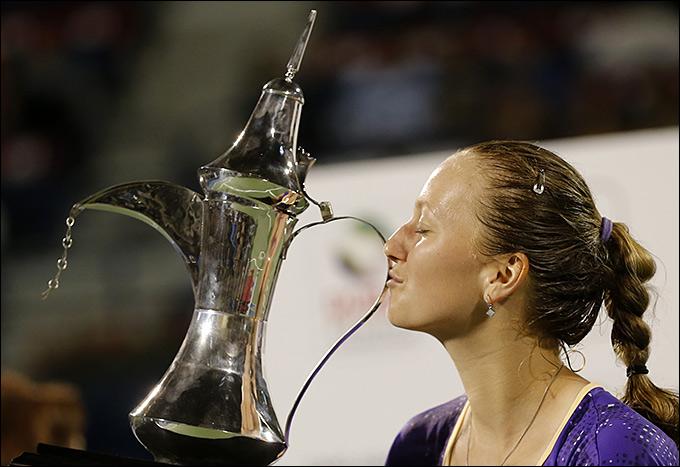 Квитова вновь продемонстрировала отличный теннис