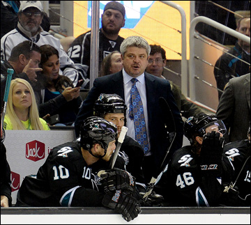 "Итоги сезона НХЛ. ""Сан-Хосе Шаркс"". Тодд Маклеллан"
