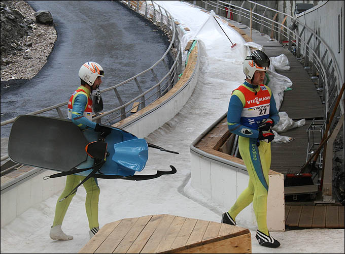 Финиш украинского экипажа
