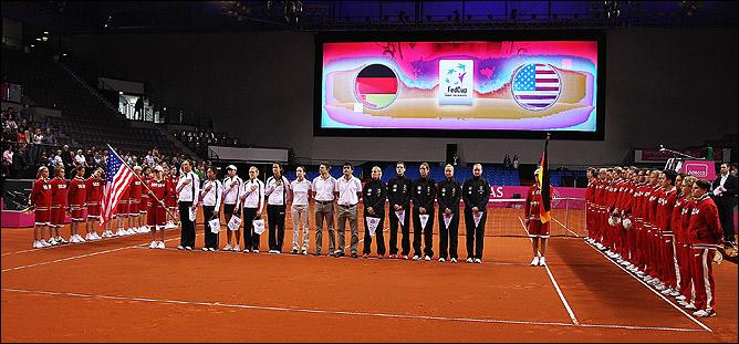 США, Австралия и Франция вылетели из Мировой группы Кубка Федерации.