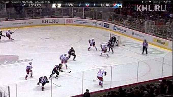 Шесть ярославцев на льду. За кадром, в воротах, седьмой — Варламов