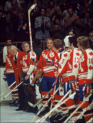 Суперсерия-1974. Сборная Канады