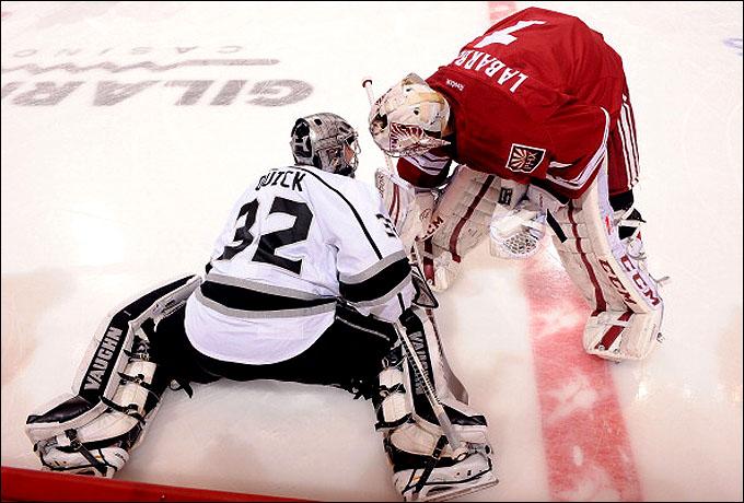 "26 января 2013 года. Глендейл. Регулярный чемпионат НХЛ. ""Финикс Койотс"" – ""Лос-Анджелес Кингз"" — 2:4"