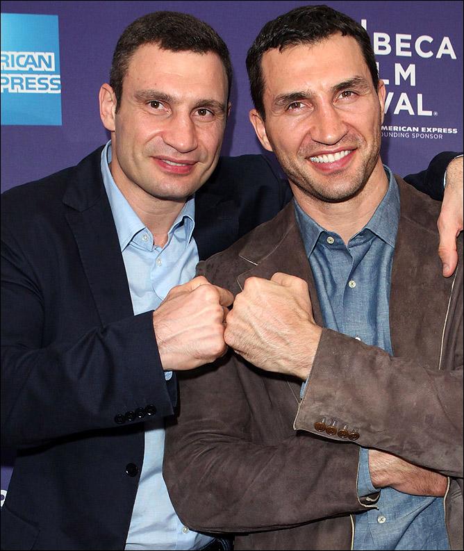 Виталий и Владимир Кличко (K2 Promotions и K2 Ukraine)