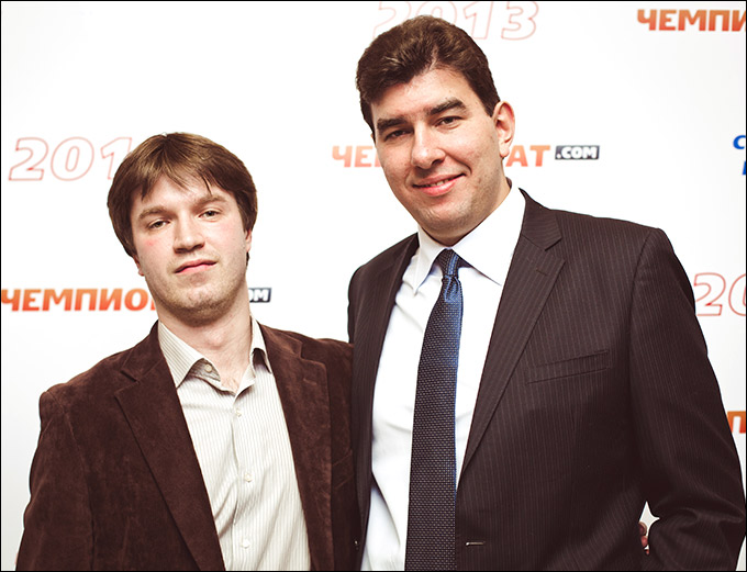 Александр Аксёнов и Лев Савари