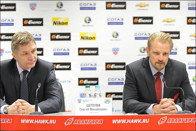 Сергей Шепелев и Петри Матикайнен