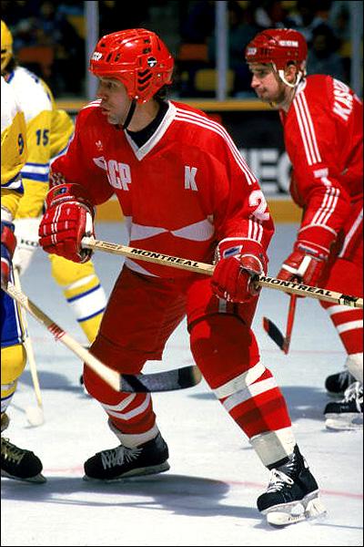 Вячеслав Фетисов в Кубке Канады, 1987 год