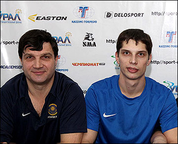 Виктор Корабейников с сыном