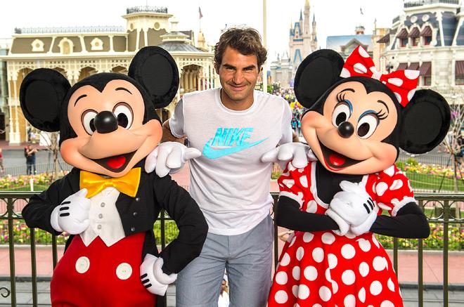 У Федерера теперь будет вдвое больше поводов посещать Диснейленд