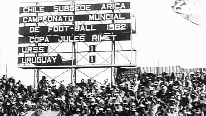 1962 – год, когда на чемпионате мира в Чили Игорь Нетто оспорил свой гол