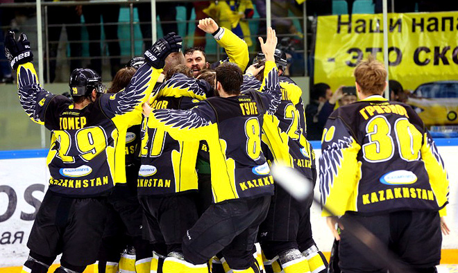 «Сарыарка» — первый иностранный чемпион ВХЛ